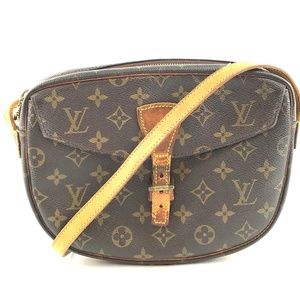 Jeune fille Monogram Canvas Cross Body Bag